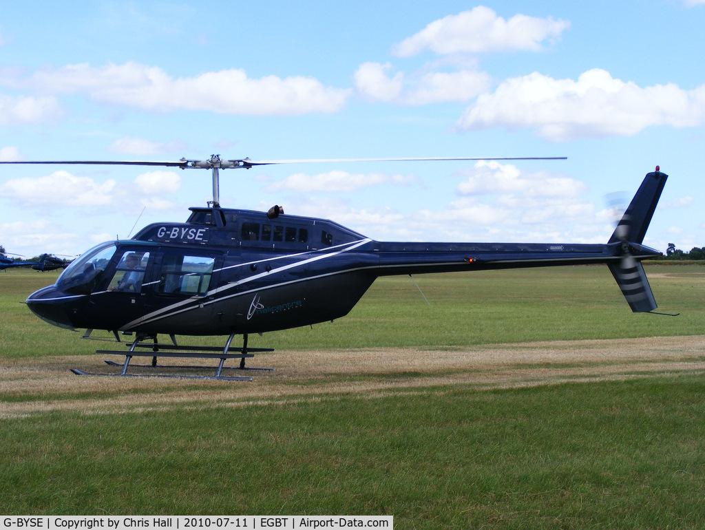 G-BYSE, 1978 Bell 206B JetRanger II C/N 8553, Alspath Properties Ltd