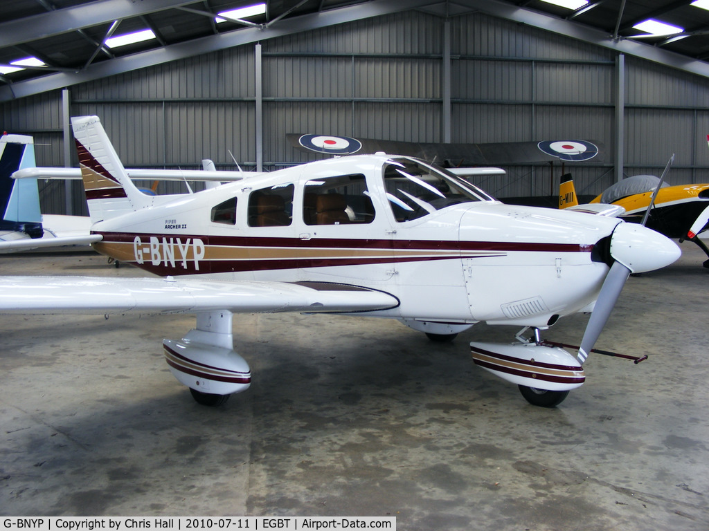 G-BNYP, 1984 Piper PA-28-181 Cherokee Archer II C/N 28-8490027, privately owned