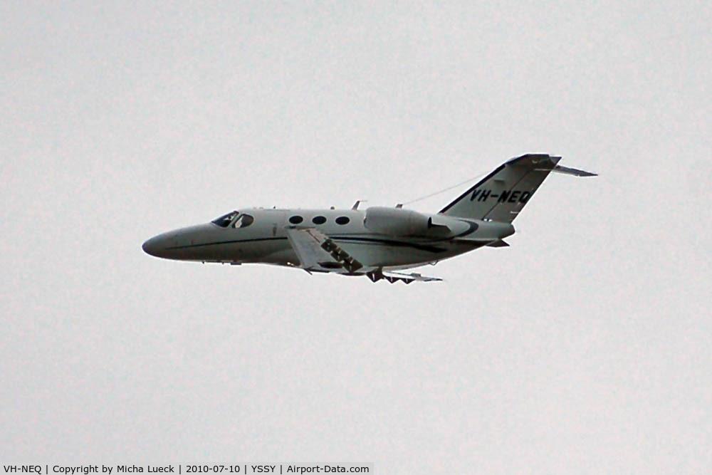 VH-NEQ, 2007 Cessna 510 Citation Mustang Citation Mustang C/N 510-0029, At Sydney