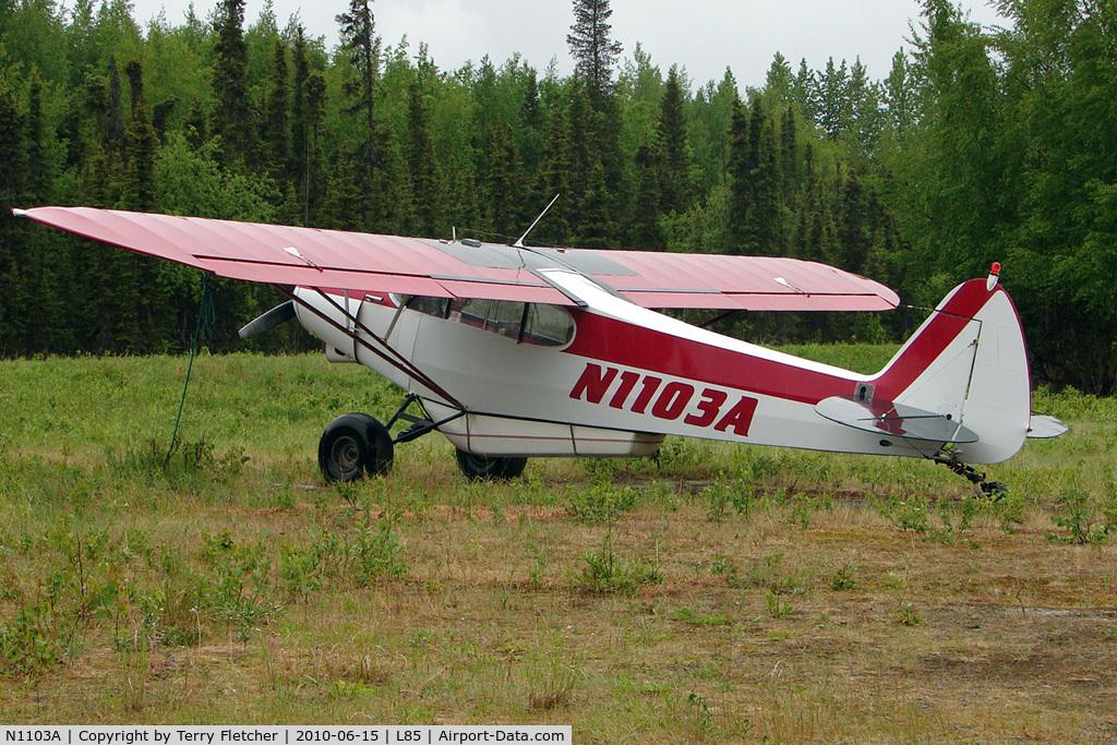 N1103A, 1951 Piper PA-18-125 Super Cub C/N 18-691, 1951 Piper PA-18-125, c/n: 18-691 at Mackey Lake landstrip