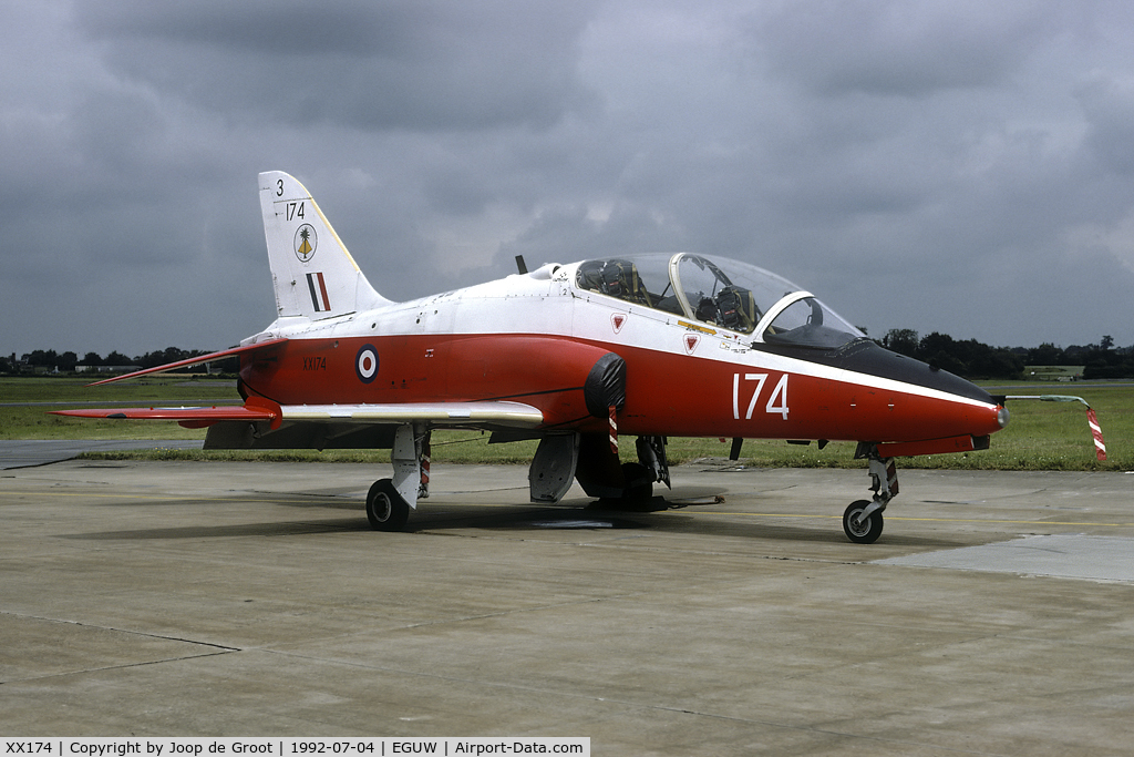 XX174, 1977 Hawker Siddeley Hawk T.1 C/N 021/312021, Phantom Phinale Photocall.