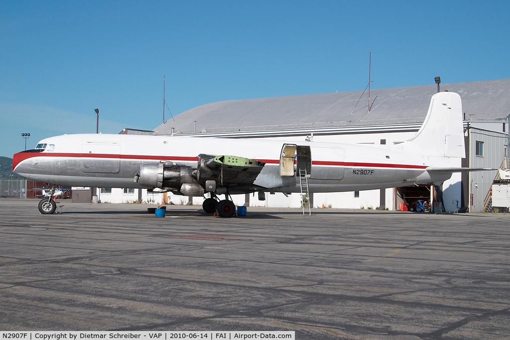 N2907F, 1953 Douglas C-118A Liftmaster (DC-6A) C/N 44636, ex Northern Air Cargo DC6