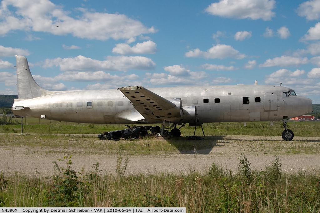 N4390X, Douglas DC-6B C/N 45066, DC6