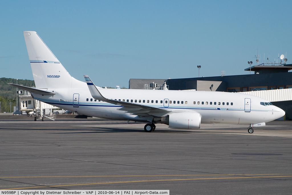 N959BP, 2008 Boeing 737-7BD C/N 36720, BP Boeing 737-700