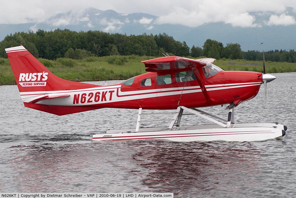 N626KT, Cessna U206G Stationair C/N U20604426, Rusts Cessna 206
