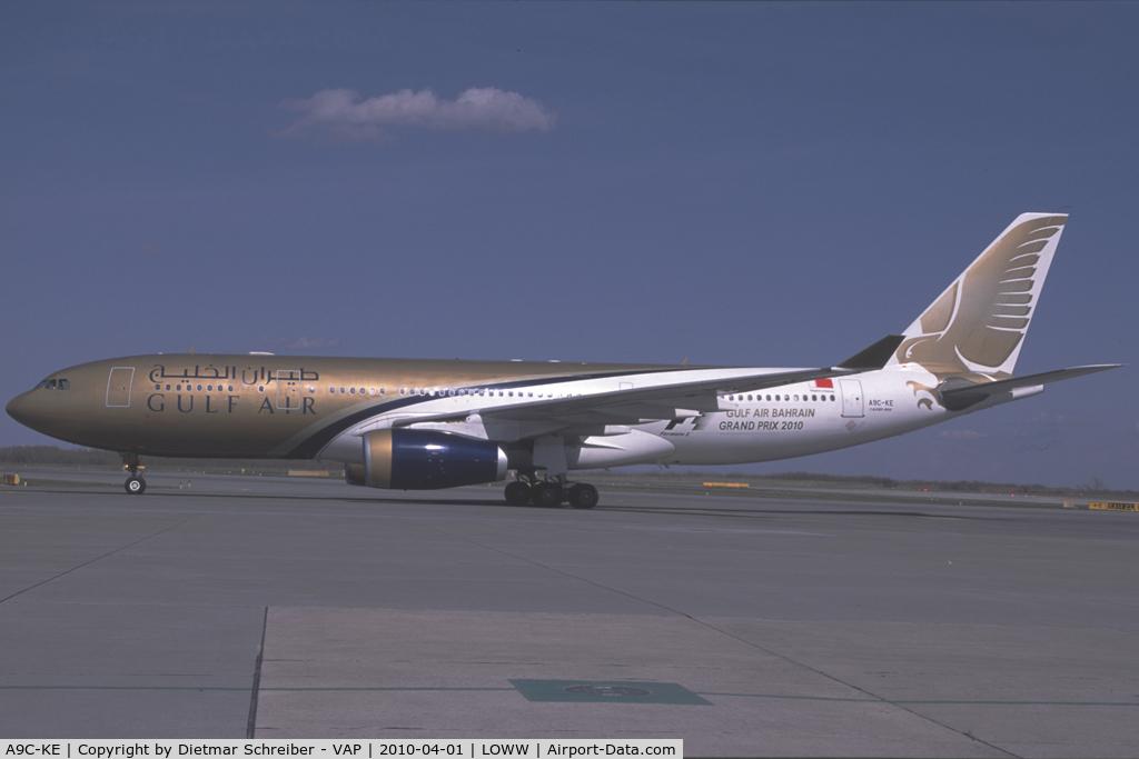 A9C-KE, 2000 Airbus A330-243 C/N 334, Gulf Air Airbus 330-200