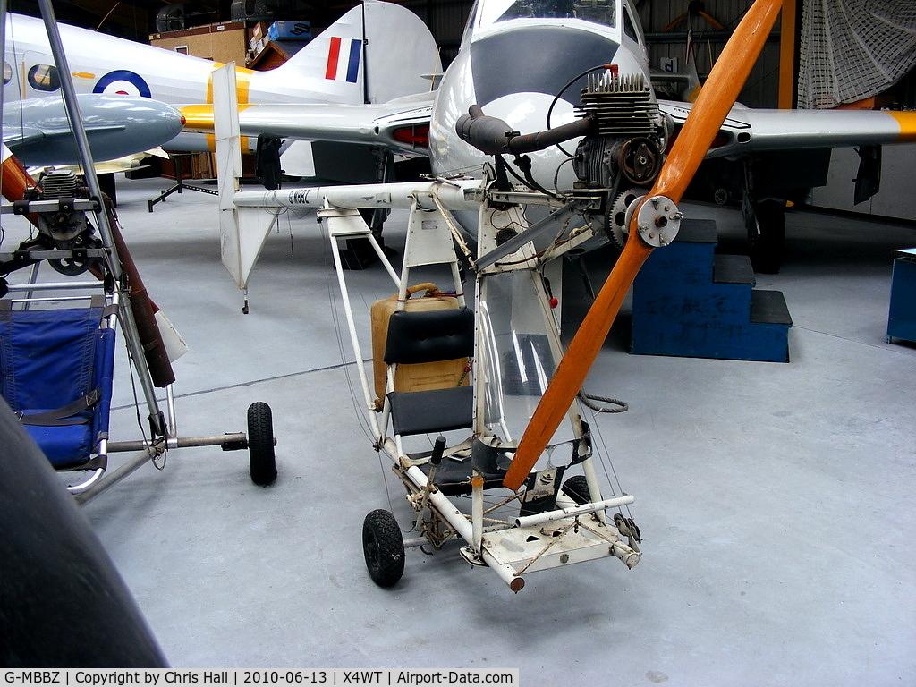 G-MBBZ, Volmer VJ-24W SunFun C/N 7, at the Newark Air Museum