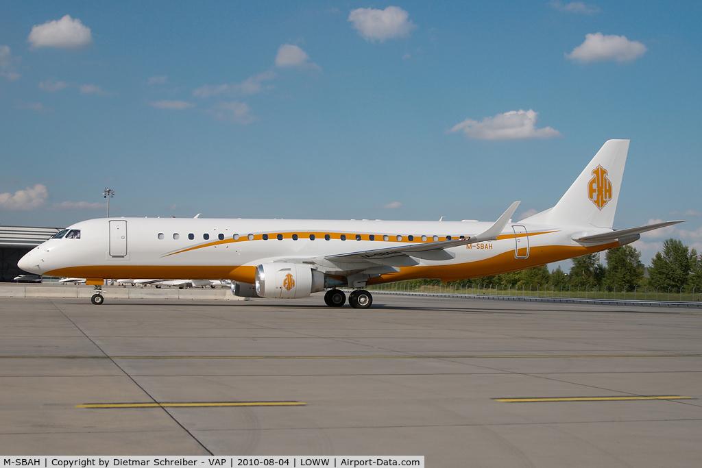 M-SBAH, 2010 Embraer ERJ-190-100ECJ Lineage 1000 C/N 19000225, Embraer 190