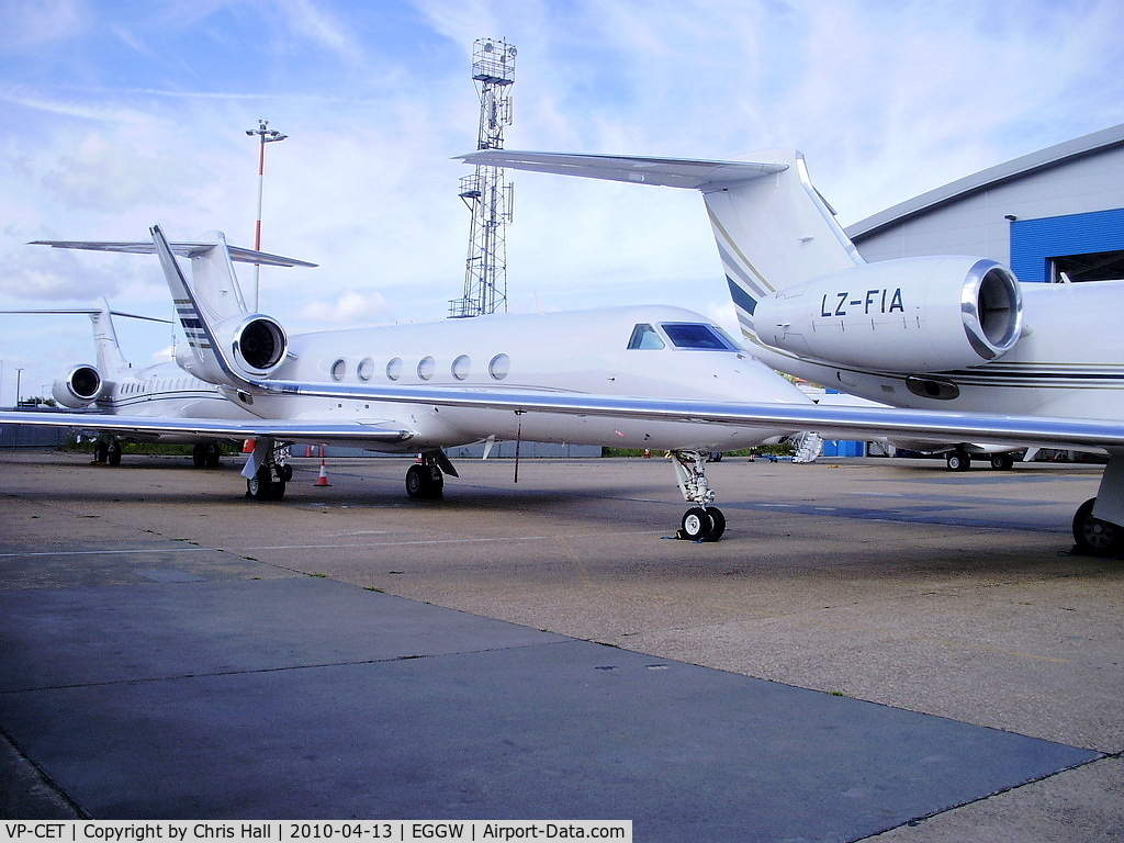 VP-CET, 2009 Gulfstream Aerospace GIV-X (G450) C/N 4166, Cayman Jet Aviation Business Jets Gulfstream Aerospace	GIV-X (G450)