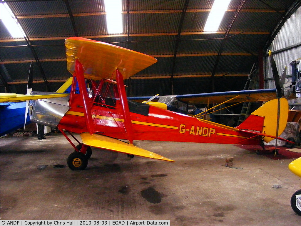 G-ANDP, 1940 De Havilland DH-82A Tiger Moth II C/N 82868, Privately owned