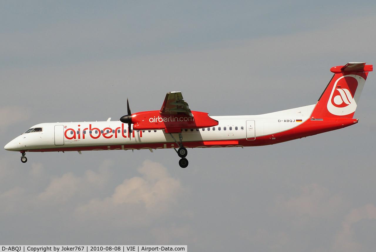 D-ABQJ, 2009 De Havilland Canada DHC-8-402Q Dash 8 C/N 4274, Air Berlin