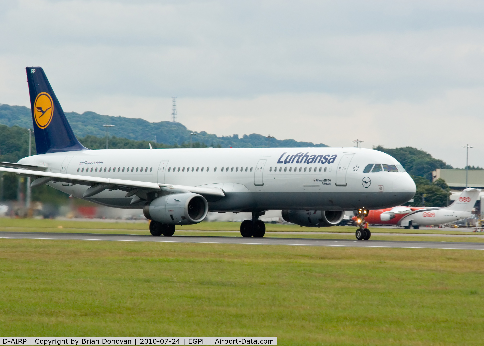 D-AIRP, 1995 Airbus A321-131 C/N 0564, Lufthansa