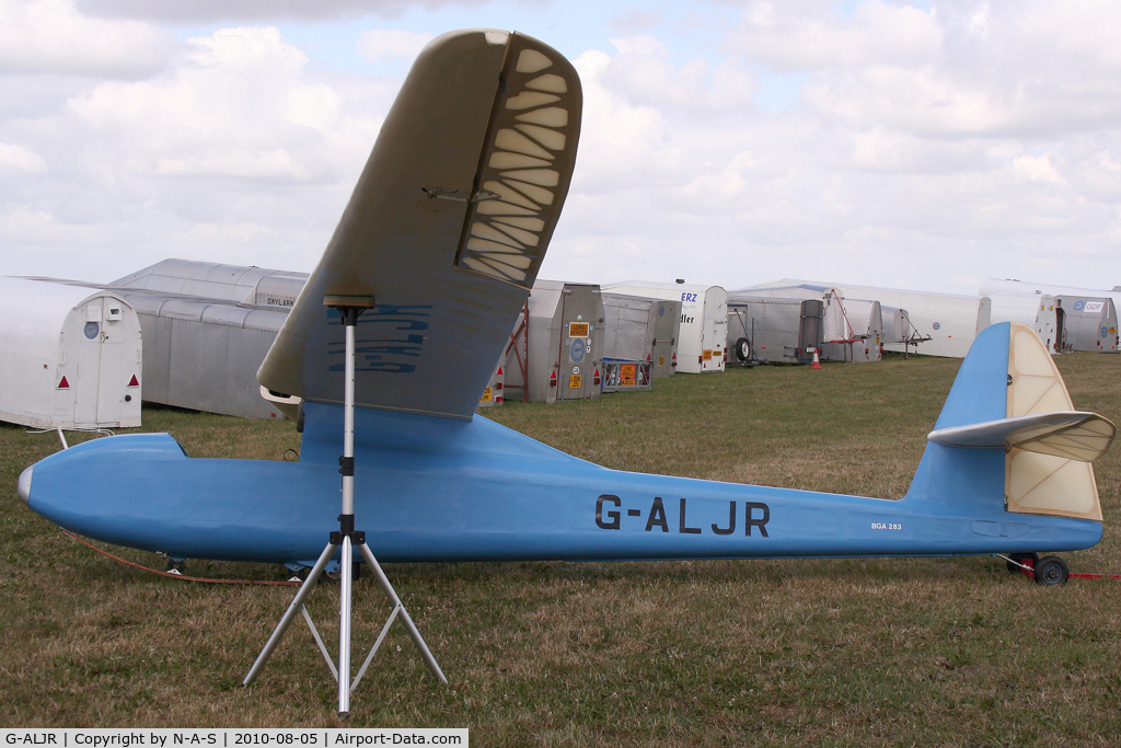 G-ALJR, 1949 Abbott-Baynes Scud III C/N 02, VGC 2010, Tibenham