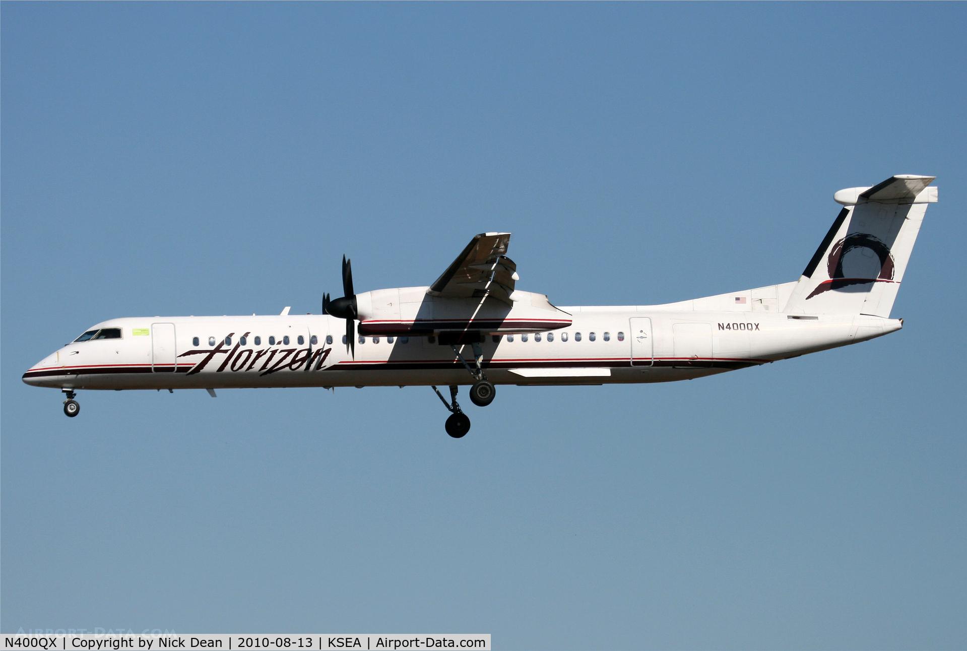 N400QX, 2000 Bombardier DHC-8-402 Dash 8 C/N 4030, KSEA