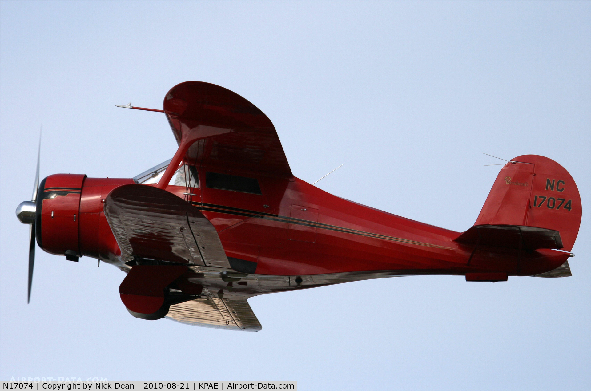 N17074, 1937 Beech C17B C/N 132, KPAE