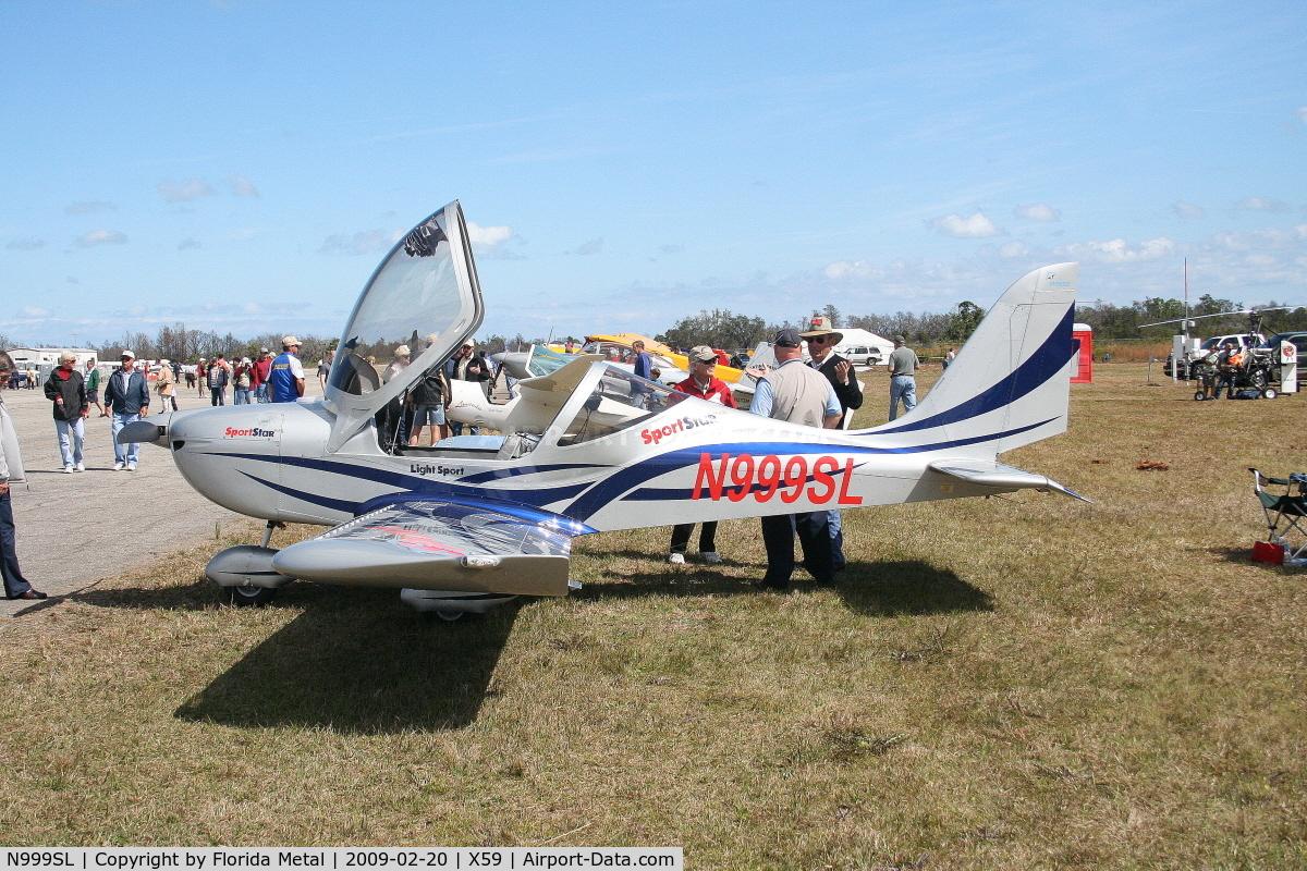 N999SL, 2008 Evektor-Aerotechnik SPORTSTAR C/N 20080001, Evektor Sportstar