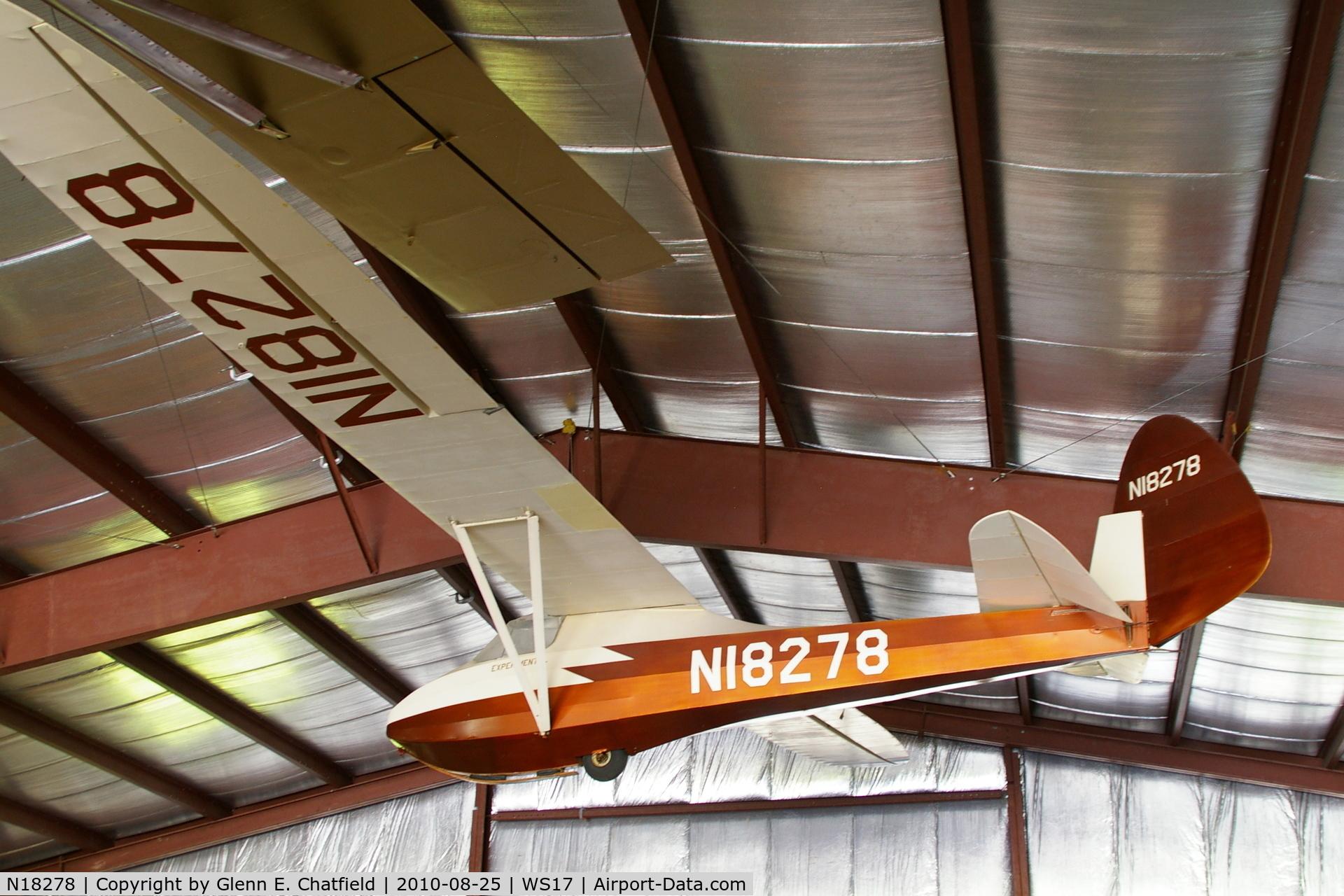 N18278, 1939 Haufe Dale HAWK 2 C/N 100, At the EAA Museum