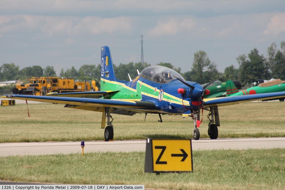 1326, Embraer T-27 Tucano (EMB-312) C/N 312030, Smoke Squadron #2