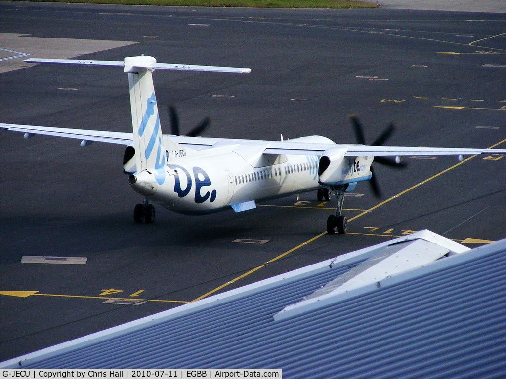 G-JECU, 2006 De Havilland Canada DHC-8-402Q Dash 8 C/N 4146, flybe