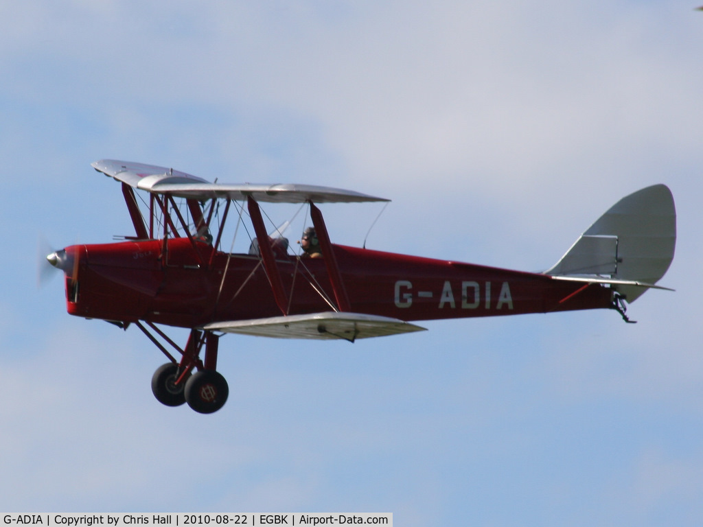 G-ADIA, 1935 De Havilland DH-82A Tiger Moth II C/N 3368, displaying at the Sywell Airshow