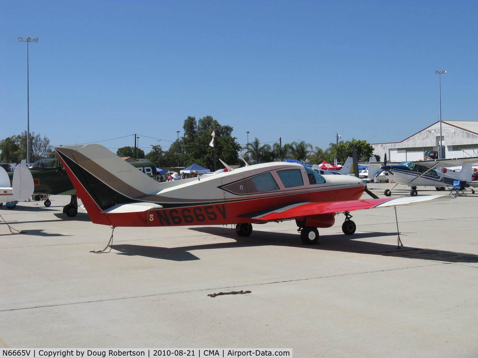 N6665V, 1967 Bellanca 17-30 C/N 30035, 1967 Bellanca 17-30 VIKING, Continental IO-520 300 Hp, 1st year of production.
