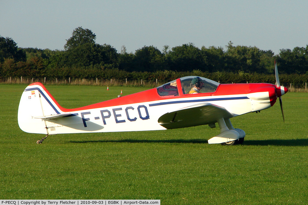 F-PECQ, Nicollier HN-434 Super Menestrel C/N 02, Constructeur Amateur NICOLLIER HN 434, c/n: 02 at 2010 LAA National Rally at Sywell
