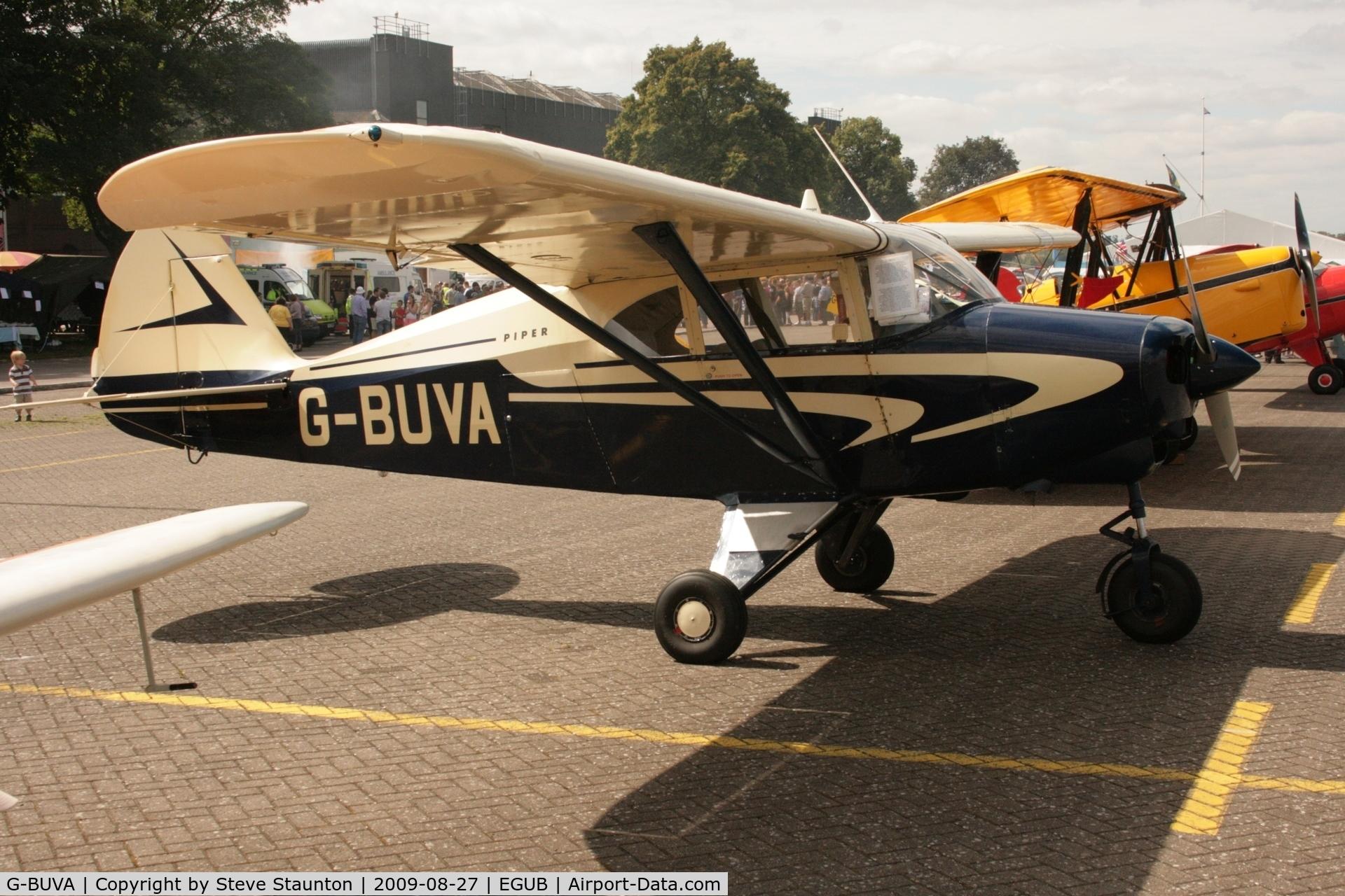 G-BUVA, 1959 Piper PA-22-135 Tri-Pacer C/N 22-1301, Taken at RAF Benson Families Day, August 2009