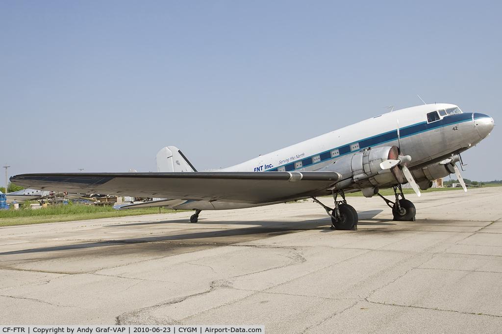 CF-FTR, 1944 Douglas DC3C-S1C3G C/N 32843, FNT Air DC-3