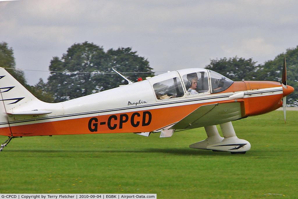 G-CPCD, 1968 CEA Jodel DR-221 Dauphin C/N 81, 1968 Centre Est Aeronautique CEA DR221, c/n: 81 at 2010 LAA National Rally