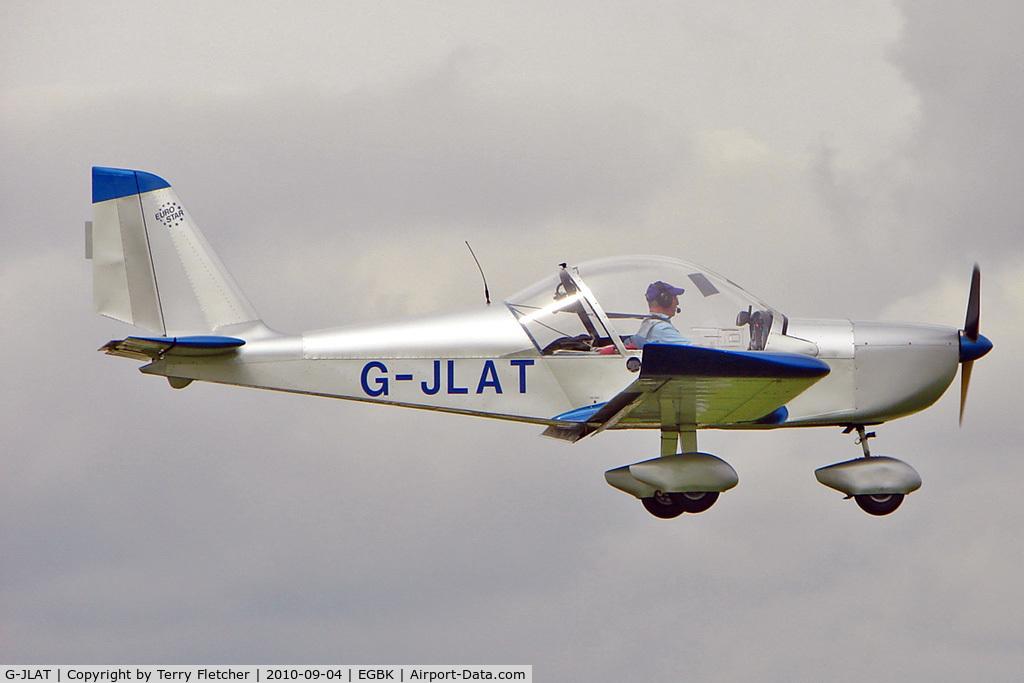 G-JLAT, 2003 Aerotechnik EV-97 Eurostar C/N PFA 315-14068, 2003 Latimer J AEROTECHNIK EV-97 EUROSTAR, c/n: PFA 315-14068 at 2010 LAA National Rally