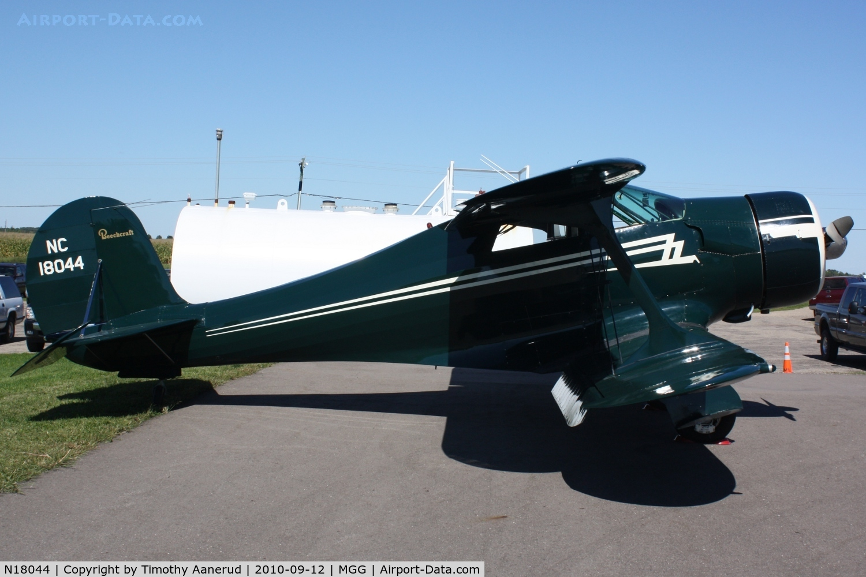 N18044, 1937 Beech E17B C/N 191, 1937 Beech E17B, c/n: 191