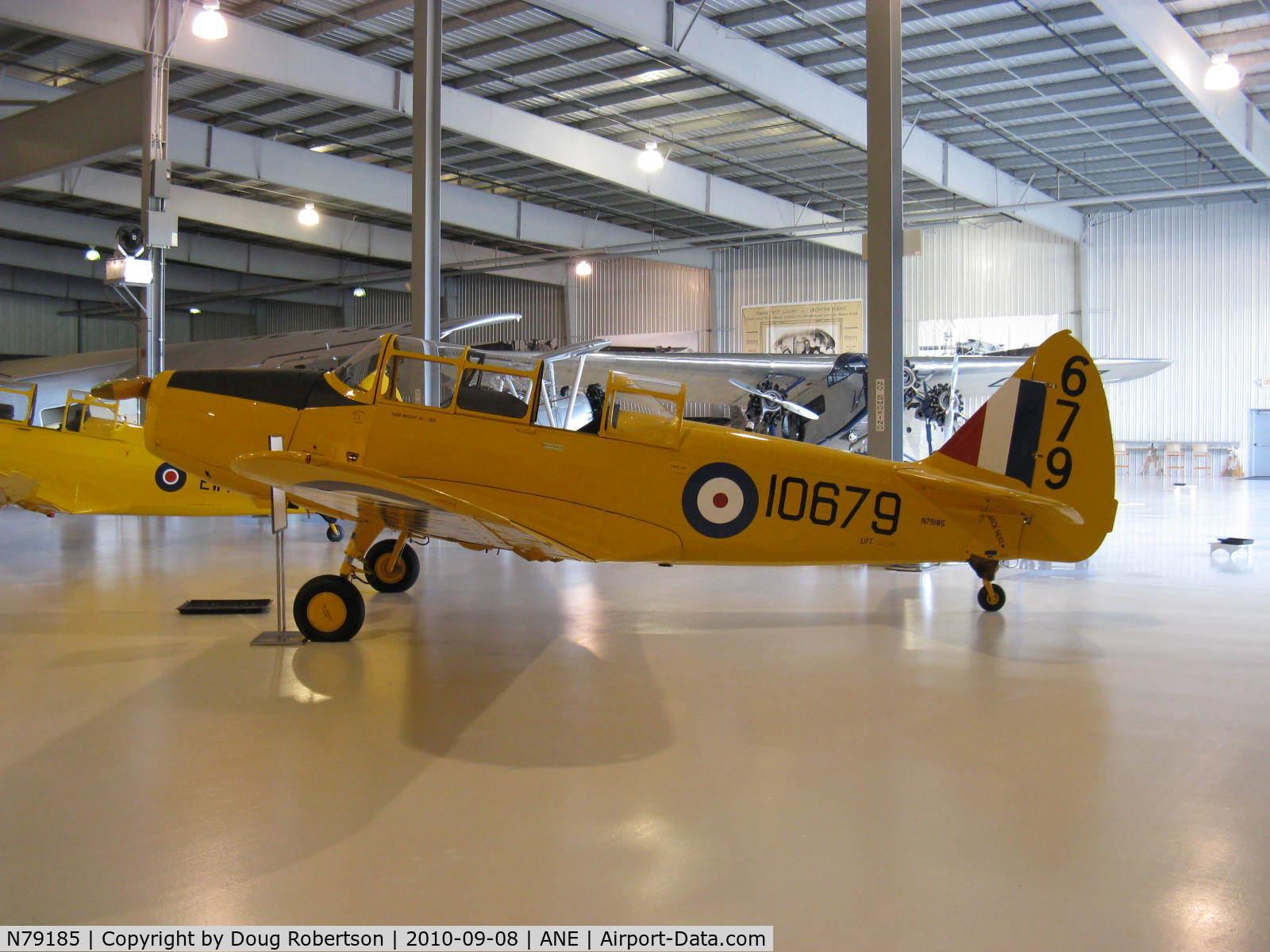 N79185, 1942 Fairchild M-62A-4 C/N FC180, 1942 Fairchild M-62A-4 as PT-26, Fairchild 6-440C-2 175 Hp, at Golden Wings Museum