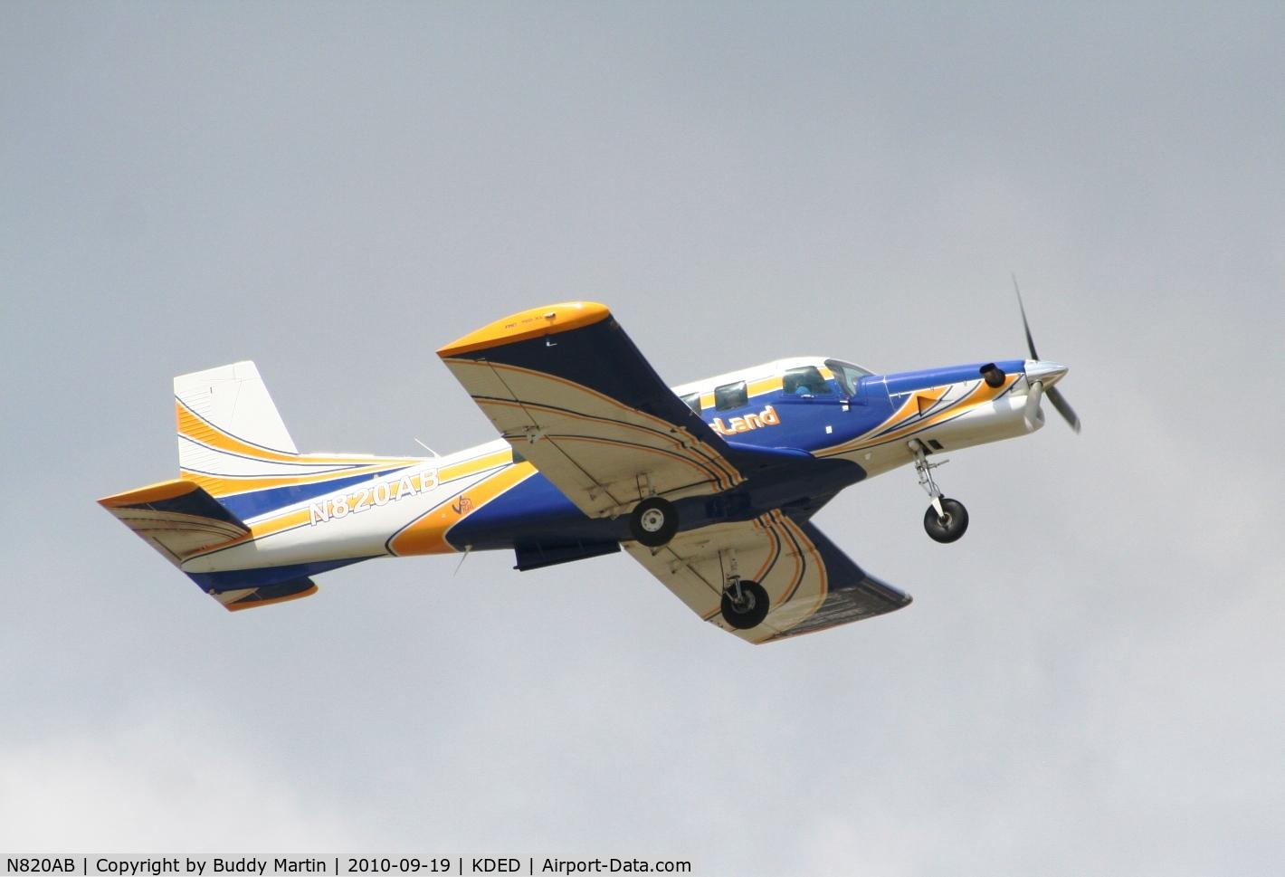 N820AB, 2005 Pacific Aerospace 750XL C/N 116, Takeoff Runway 5 at KDED