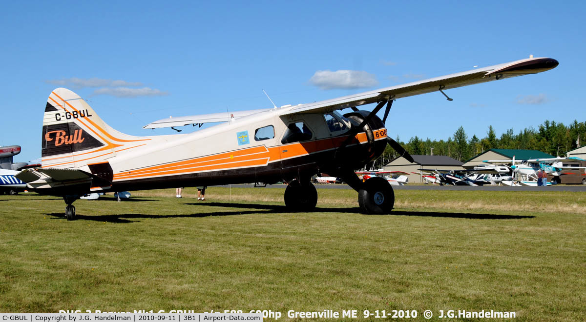 C-GBUL, 1953 De Havilland Canada DHC-2 MK. I C/N 588, Big Engine Beaver