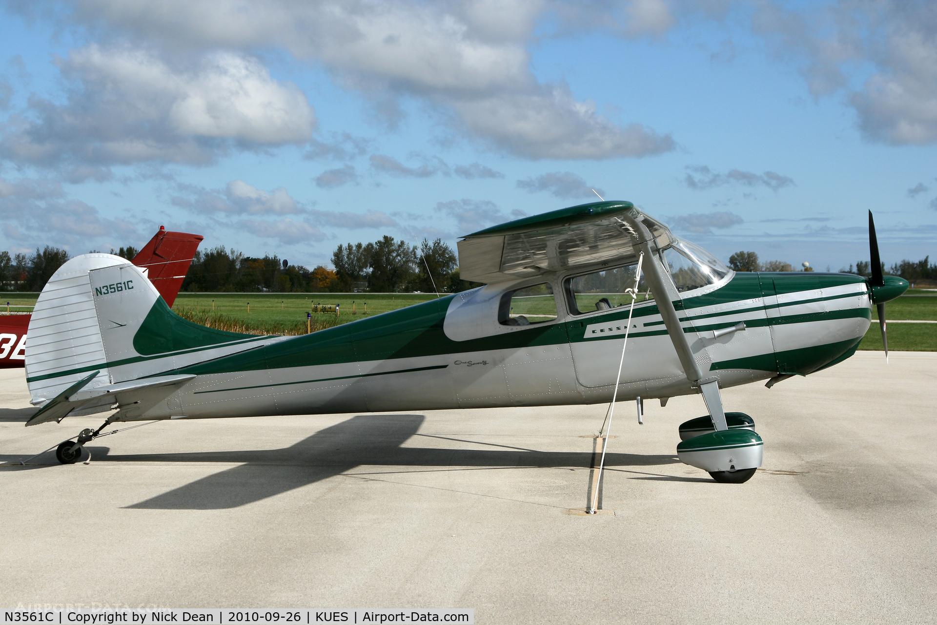 N3561C, 1954 Cessna 170B C/N 26605, KUES