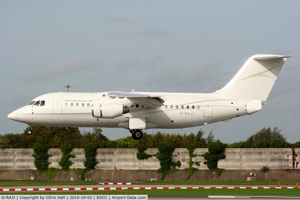 G-RAJJ, 1988 British Aerospace BAe.146-200 C/N E2108, Cello Aviation Ltd