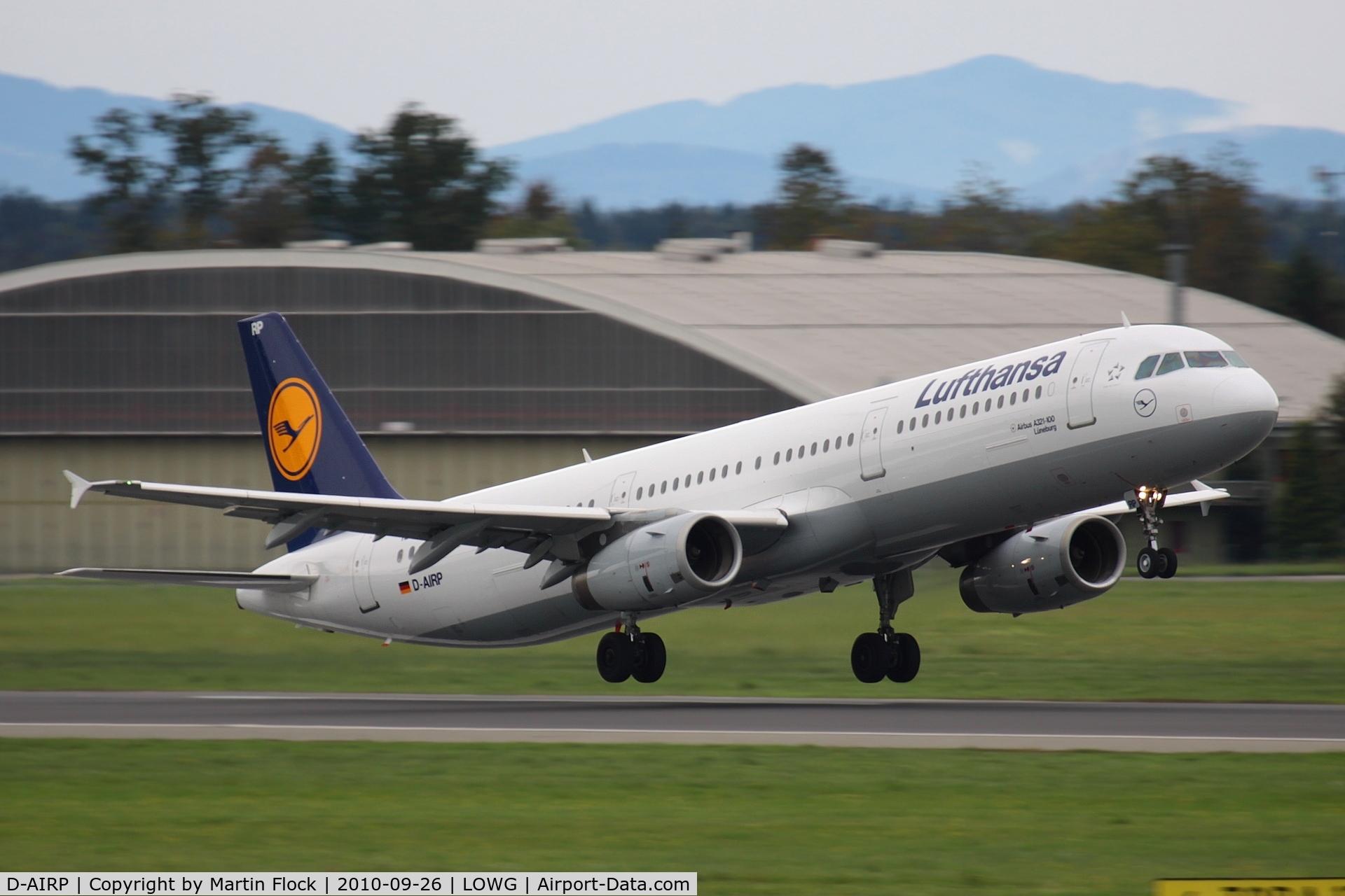D-AIRP, 1995 Airbus A321-131 C/N 0564, .