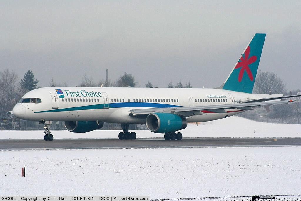 G-OOBJ, 1993 Boeing 757-2B7 C/N 27147, First Choice