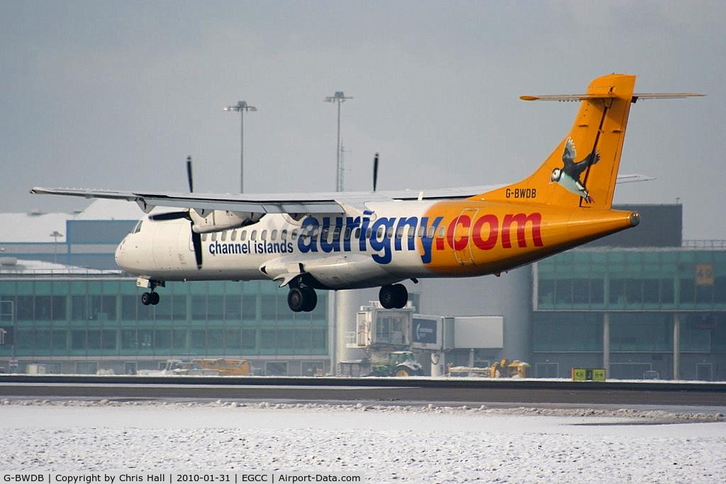 G-BWDB, 1995 ATR 72-202 C/N 449, Aurigny Air Services