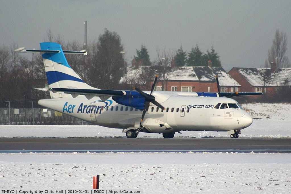 EI-BYO, 1989 ATR 42-300 C/N 161, Aer Arann