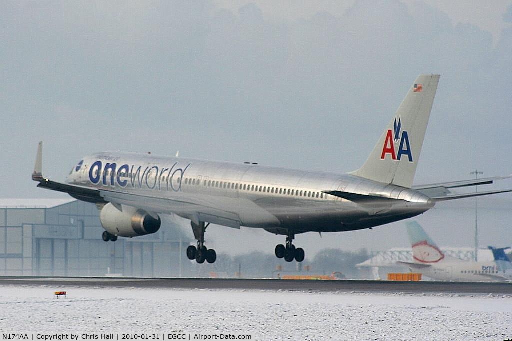 N174AA, 2002 Boeing 757-223 C/N 31308, American Airlines