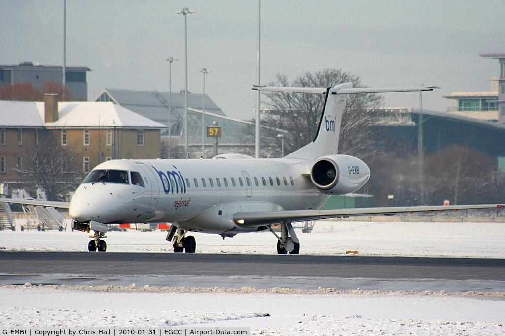 G-EMBI, 1999 Embraer EMB-145EU (ERJ-145EU) C/N 145126, BMI Regional