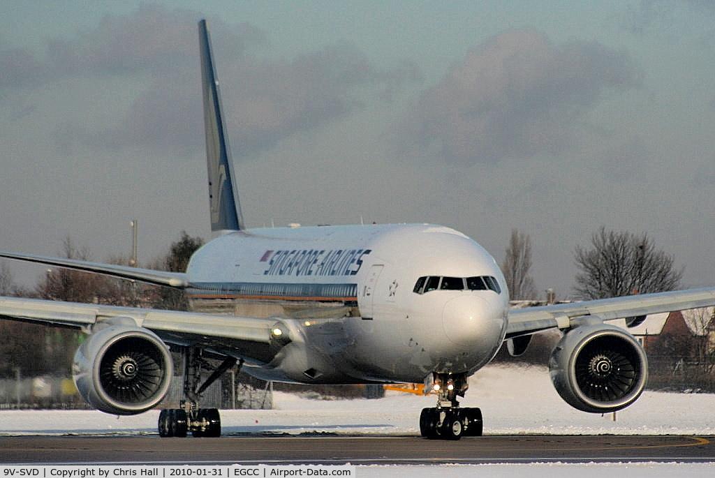 9V-SVD, 2001 Boeing 777-212/ER C/N 30869, Singapore Airlines