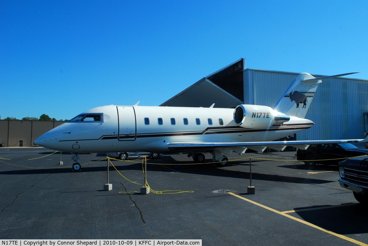 N17TE, 2007 Bombardier CL-600-2B16 C/N 5724, Ted Turner's Bombardier Challenger 600, used for UN missions worldwide