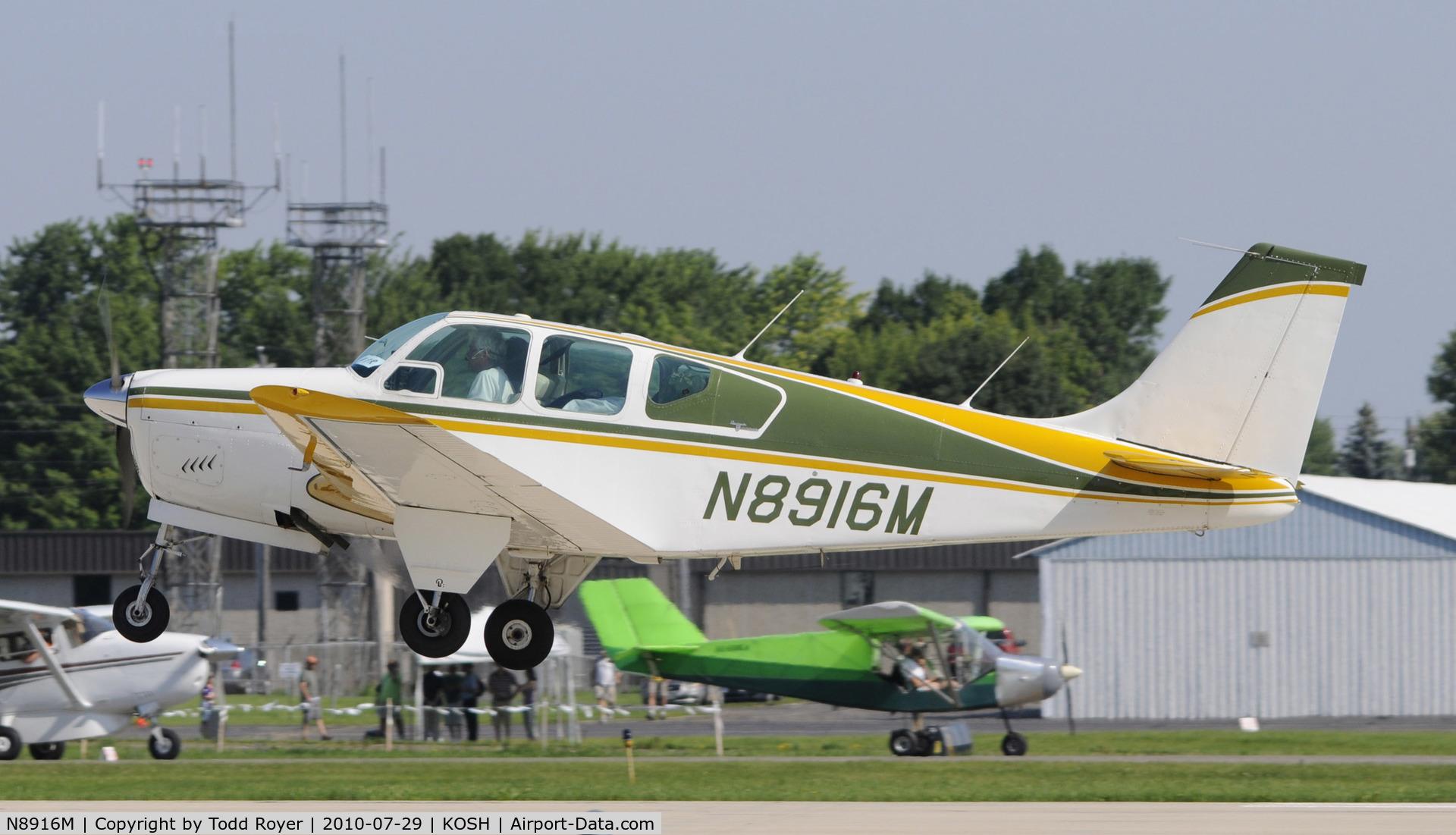 N8916M, 1964 Beech 35-B33 Debonair C/N CD-735, EAA AIRVENTURE 2010