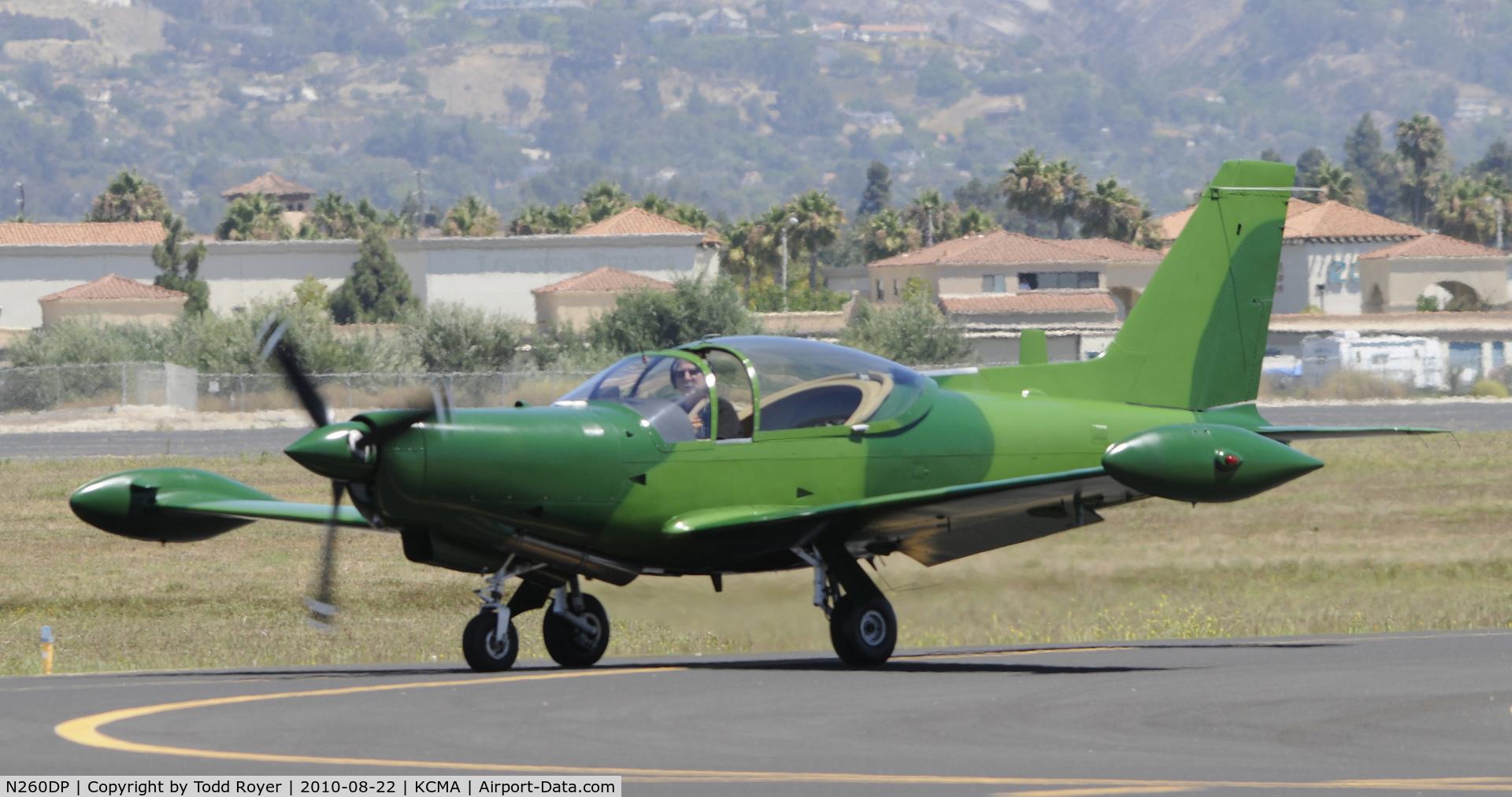 N260DP, 1983 SIAI-Marchetti SF-260TP C/N 009/62-002, 2010 CAMARILLO AIRSHOW
