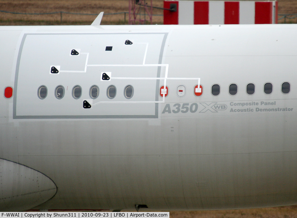 F-WWAI, Airbus A340-311 C/N 001, Close up of the panel... on the left side...