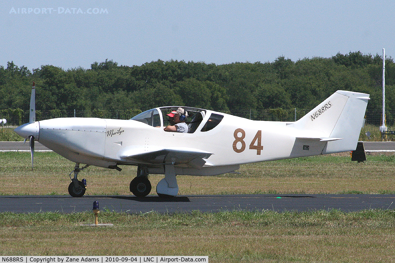 N688RS, 2004 Stoddard-Hamilton Glasair C/N 688, At Lancaster Municipal - Warbirds on Parade Fly-in.