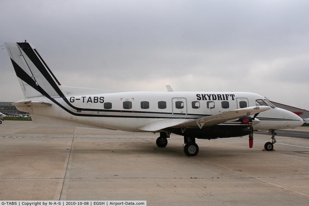 G-TABS, 1979 Embraer EMB-110P1 Bandeirante C/N 110212, Resident