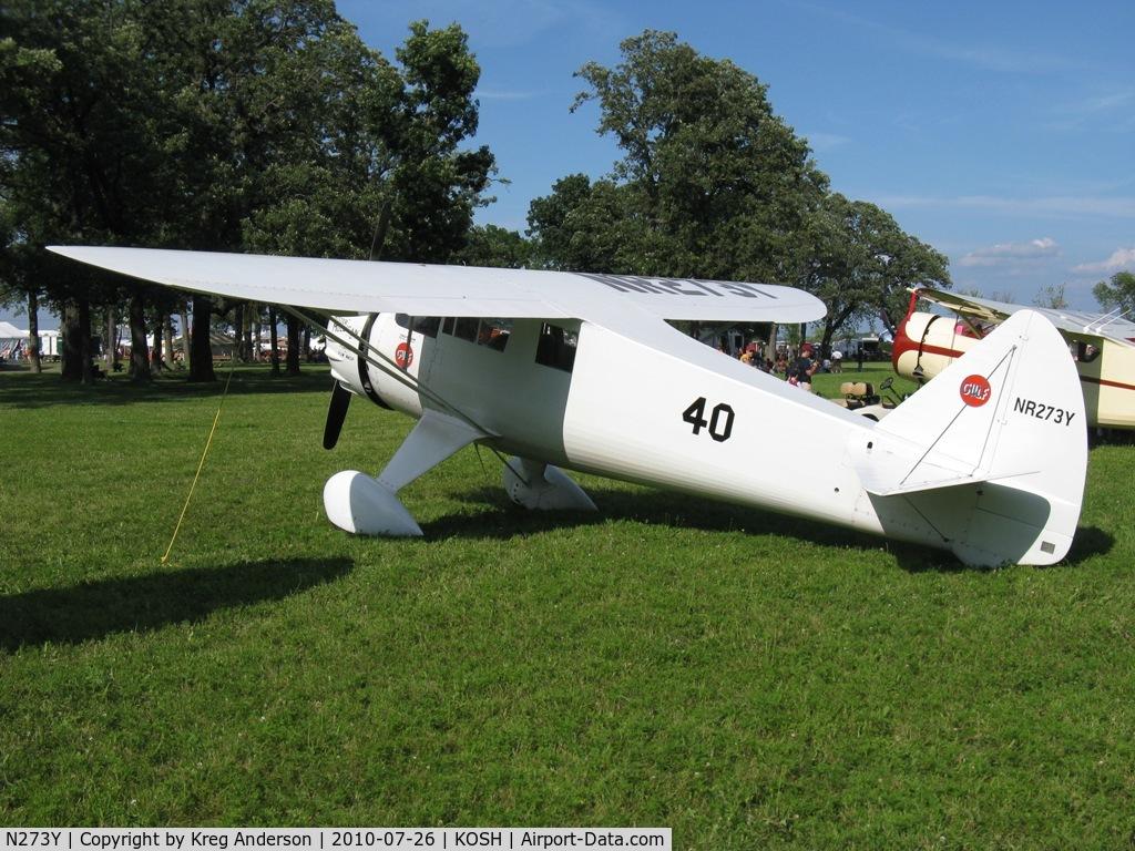 N273Y, 1985 Howard Aircraft DGA-6 Replica C/N JRY-02, EAA AirVenture 2010